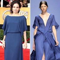 Одна і та ж дизайнерська сукня